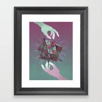 Mindgames Framed Art Print