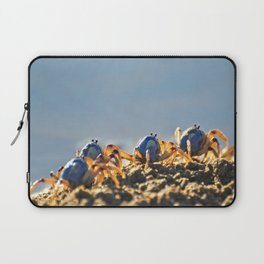 Blue soldier crabs Laptop Sleeve