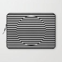 Hypnotic Illusion - Black & White Laptop Sleeve