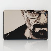 walter white iPad Cases featuring Walter White by bubbsyforever
