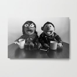 Modern Puppet Gothic Metal Print