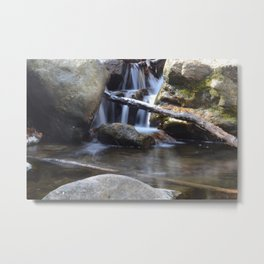 Small waterfall away from Cascade Falls Metal Print