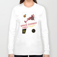 cowboy bebop Long Sleeve T-shirts featuring NES Cowboy Bebop by IF ONLY