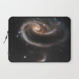 Pair of Galaxies Laptop Sleeve