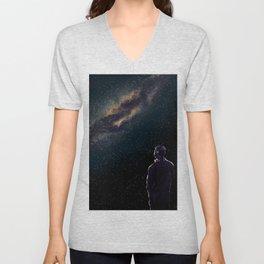 Rodney Under The Milky Way Unisex V-Neck