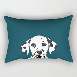Ryan - Dalmatian art print phone case decor for pet lover and dog lover Rectangular Pillow