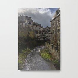 Dean Village, Edinburgh Metal Print