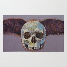 Raven Skull Rug