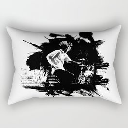 Zack de la Rocha Rectangular Pillow
