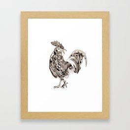 Rooster Framed Art Print