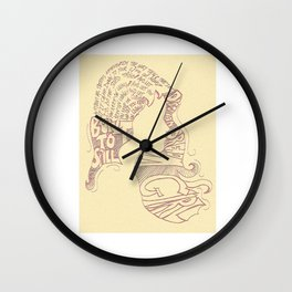 Distopian Dream Girl-Built To Spill Wall Clock