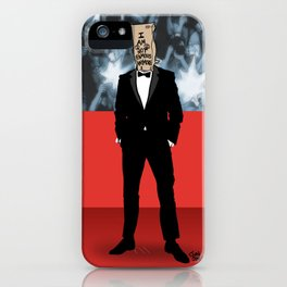 I Am Not Famous Anymore iPhone Case