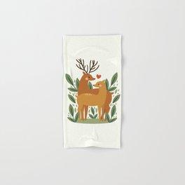 Deer Love Hand & Bath Towel