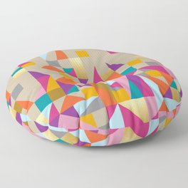 Fiesta Quilt Floor Pillow