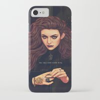 lorde iPhone & iPod Cases featuring The Fire's Found A Home In Me by Helen Green