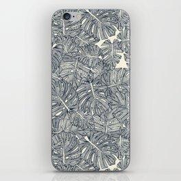 monstera leaves pearl iPhone Skin