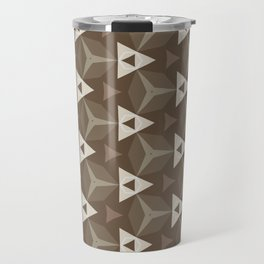 Upleft: digital abstract pattern Travel Mug