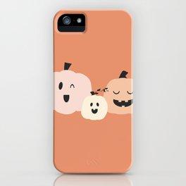 3 Pumpkins 3 iPhone Case