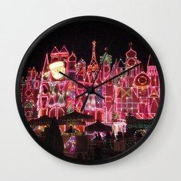 Small World Holiday (Night-time no.1) Wall Clock