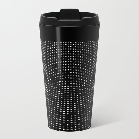 Futurism - Curved Space Metal Travel Mug