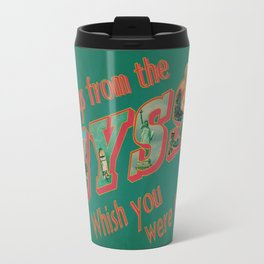 Welcome to the Abyss Travel Mug