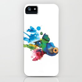 COLORFUL FISH 2 iPhone Case