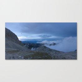 Triglav Evening Clouds Canvas Print