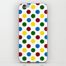 School Days Polka Dots iPhone Skin