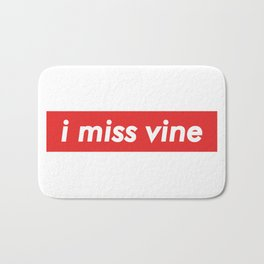 I Miss Vine Bath Mat