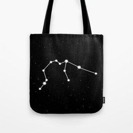 Aquarius Astrology Star Sign Tote Bag