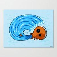 aquarius Canvas Prints featuring Aquarius by Giuseppe Lentini