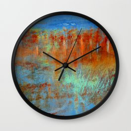 A Sea of Flowers - JUSTART (c) Wall Clock