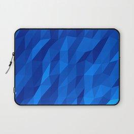 Blue Polygon v1 Laptop Sleeve
