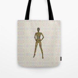 Portrait of A Woman of Color Tote Bag