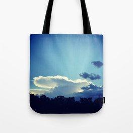 Cloud Anvil Tote Bag