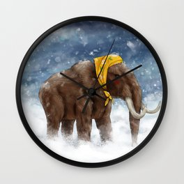Babushka Mammoth Wall Clock