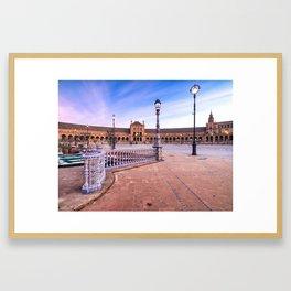 Plaza de España, Sevilla, Spain 3 Framed Art Print