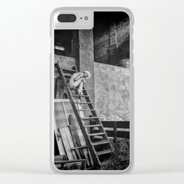 K Clear iPhone Case