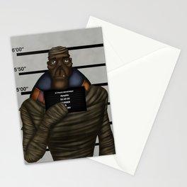 Mummy mugshot Stationery Cards