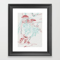 Lava II Framed Art Print