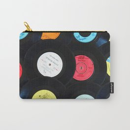 Retro Vinyl Records Carry-All Pouch