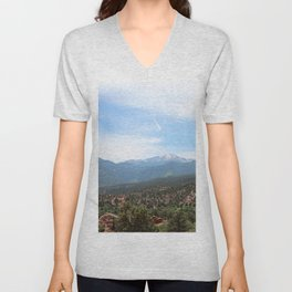 Spectacular View of Pike's Peak Unisex V-Neck