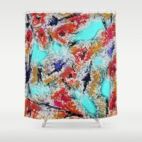 the xx Shower Curtains featuring Abstract XX by Mr & Mrs Quirynen