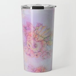 Flowers in pastels Travel Mug