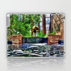 Fountain at the Omni Laptop & iPad Skin
