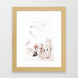 Still-Life with fruits Framed Art Print