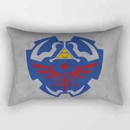 Hyrule Rulez #001 Rectangular Pillow