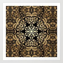 """Art Deco. """"Byzantium"""" Art Print"""