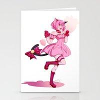 mew Stationery Cards featuring Mew Ichigo by EpictheTitan