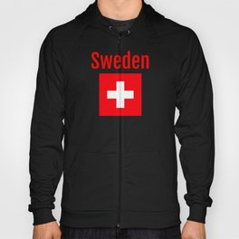 Sweden - Swiss Flag Hoody